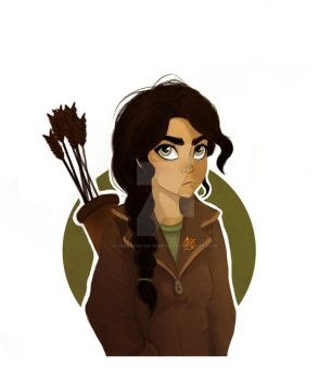Katniss design by Superior-Silverfox