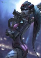 OVERWATCH Widowmaker by fate-fiction
