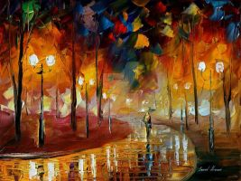 Anticipation by Leonid Afremov by Leonidafremov