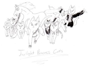 More TP Cats by nightwindwolf95