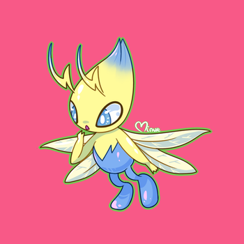 Electric/Flying Celebi by MinueCharm