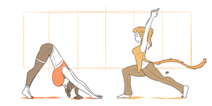 Yoga With Danica And Zi by TheDangerCat