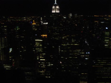 Empire State at Night by Toffee-Apple