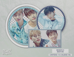 MONSTA X | NEWTON by MonstaXGraphics1