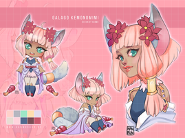 [CLOSED] Galago Kemonomimi Adoptable by MMXII