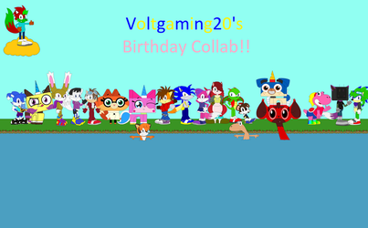 Voltgaming20's Birthday Collab announcement by Voltgaming20