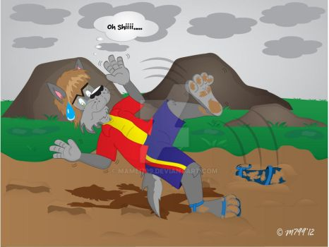 Comission  Dam Mud XP by mamei799