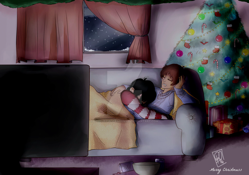 Merry Christmas KLance by colourful-crayons95