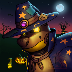 Scrappy halloween by SpaceDog500