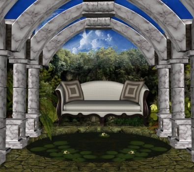 Romantic Setting Background by mysticmorning