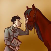 War Horse: Enough Courage for the Two of Us by RhythmicHeartbeat