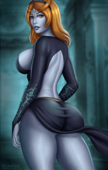Midna by Flowerxl