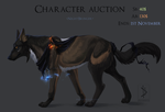 [CLOSED] HALLOWEEN Canine Character auction! by Eredhys