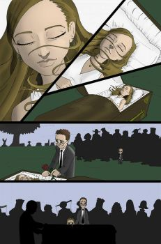 Clawz! Issue 1 Funeral Scene by vytera
