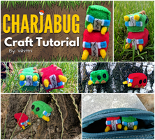 Charjabug Plush Video Tutorial | Free Pattern!