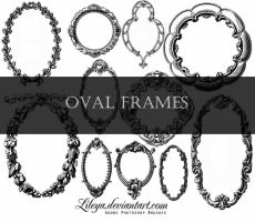 Oval Frames by Lileya