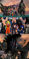 The Guardians of Freedom: Warriors of Light. by WOLFBLADE111