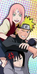 Naruto Team 7 by ELordy