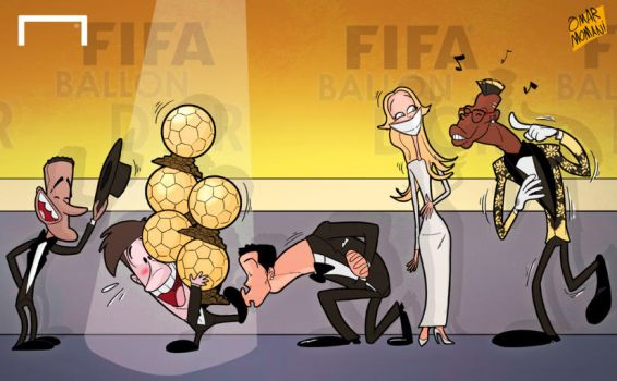 Messi scoops his fifth Ballon d'Or by OmarMomani