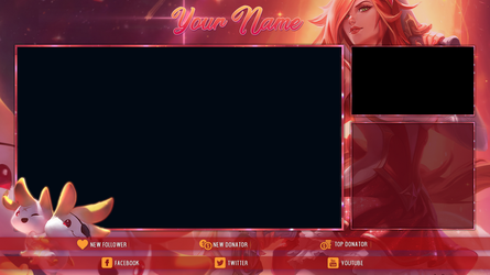 [FREE] Star Guardian Miss Fortune - Stream Overlay by Psychomilla