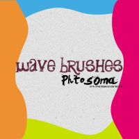 wave brushes by photosoma
