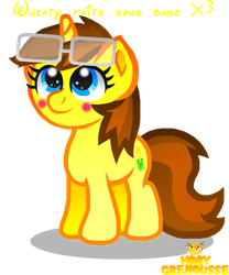 .:WHEATY MADE WITHOUT BASE:. by HOBYGRENOUSSE