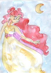 SLA: Watercolor Princess by caleigh