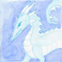 Ice Dragon by kamiki