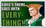 Guile's Theme Stamp by Onslaught14