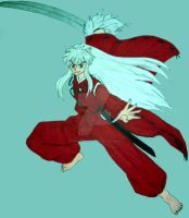 InuYasha by InkArtWriter