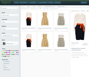 Styloot Shop - Second Iteration by eXPerienceARTS