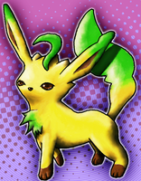 leafeon for Northernitaly9080 by Chartokai