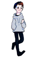 hi im android the connor sent by cyberlife by MInchly