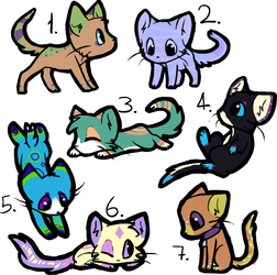 Epic Collab Adopts with Tris! (4/7 OPEN) by ThatCreativeCat
