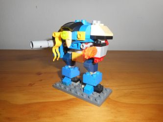 Microscale Lego Imperial Knight by S7alker117