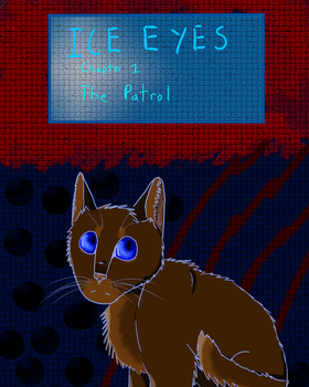 Ice Eyes Chapter 1 cover by PinefaIls