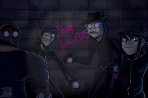 The Lenz! - Gorillaz by Ashesfordayz