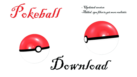 [MMD] Pokeball by LoreneMMD