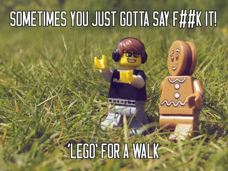 LEGO FOR A WALK by Stuart-Dillon
