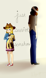 Just Survive Somehow, Lil Asskicker by AngelB0y