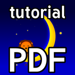PDF Tutorial: Moon and Lion (GIMP, Vector) by RetSamys