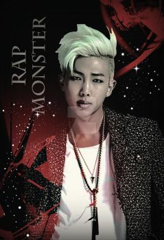 Rapmon Poster (Custom Made) by blackassassins