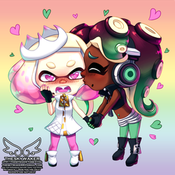 Off The Hook Chibi (9 21 2018) by theskywaker