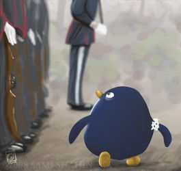 Sir Penguin by SamiShahin-Art