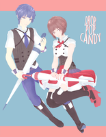 DL: tda drop pop candy [kaito and meiko] by Jjinomu