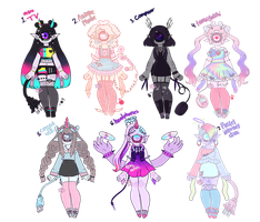 Electronic Xyns [closed] by hello-planet-chan