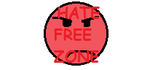 Hate free zone Stamp by CheysMisadventures