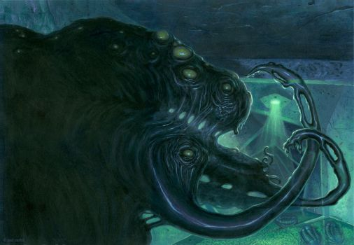 SHOGGOTH!! by nightserpent