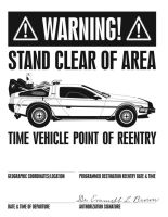 BttF Printable flier by dhulteen