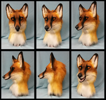 Fox head AUCTION by FeralFacade